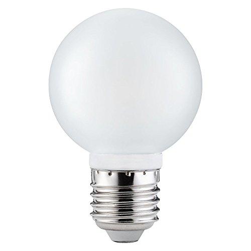 10 x Paulmann LED Leuchtmittel Globe G60 4W fast 40W E27 Satin Satiniert warmweiß 2700K 360°