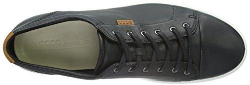 Ecco Herren Soft 7 Men's Low-Top Schwarz (Black 1001)
