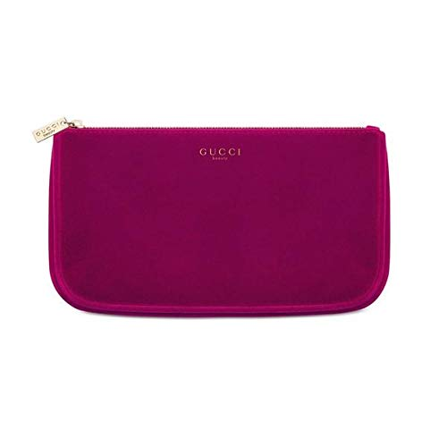 0d9b45bd13 Gucci Burgundy Velvet Makeup Cosmetic Bag Travel Pouch