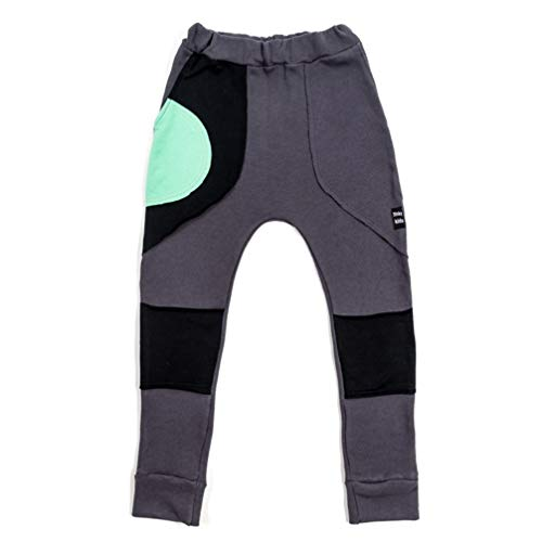 3fnky kids Trousers Ball Pocket Dark Grey for Boys and Girls 2-8 Years Old (2-4 Years)