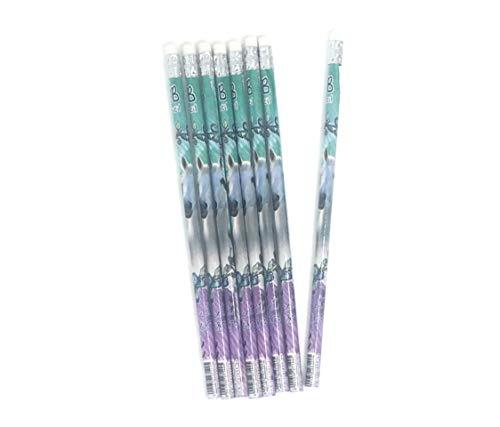I love horses -Pferd - 8 Bleistifte mit Radiergummi - tolle Geschenkidee für Kinder P02