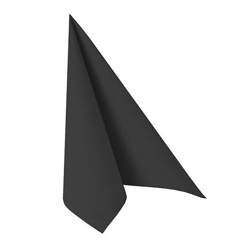 n ROYAL Collection 1/4-Falz 33 cm x 33 cm schwarz, Sie erhalten 5 Packungen, Packungsinhalt: 50 Stück ()