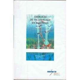 Exercices de technologie en biochimie by S Calmes (2000-01-01) par S Calmes;A Massot