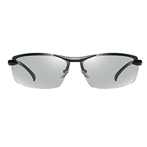 Jinxiaobei Herren Sonnenbrillen Polarisierte Sonnenbrille. Sonnenbrille. Sportliche polarisierte Sonnenbrille. Polarisierte Sport-Sonnenbrille for Herren. (Color : Black)