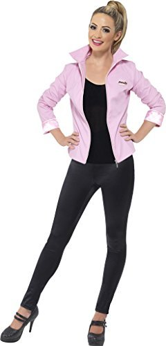 donna-pink-ladies-grease-costume-giacca-taglia-large-si-adatta-a-16-18
