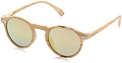 D.Franklin ULTRA LIGHT IWOOD / GOLD - gafas de sol, unisex, color dorado, talla UNI
