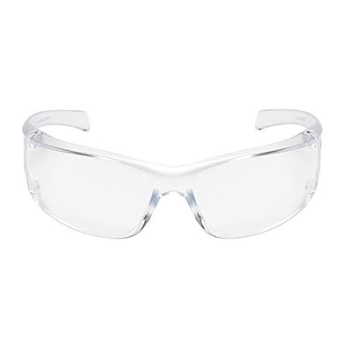 3M Schutzbrille Virtua AP VIRCC4, klar – Leichte Arbeitsschutzbrille mit transparentem Rahmen &...