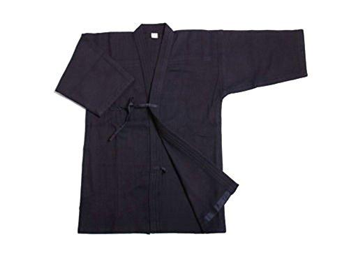 ZOOBOO. Uniforme para artes marciales: Kendo, Aikido y Hakama., Only Dark Blue Keikogi