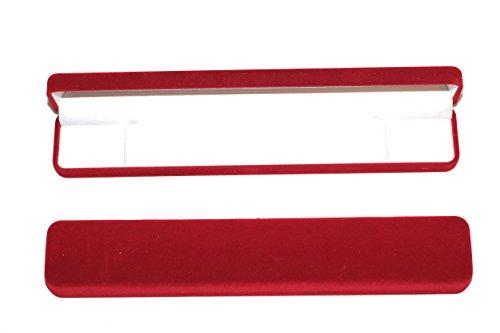 rkc-x-2-pcs-jewellers-grade-red-long-rectangular-shaped-velvet-gift-boxes-box-for-presentation-of-je