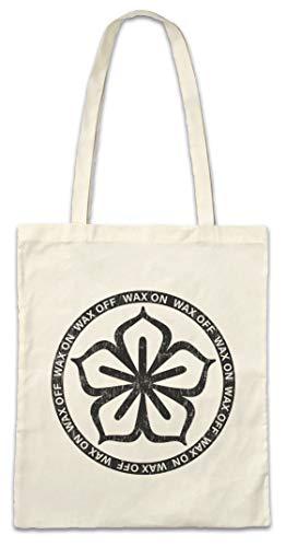 e582fe1a162 Urban Backwoods Karate Lotus Logo Réutilisable Pochette Sac De Courses en  Coton