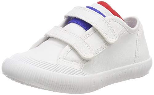 LE COQ SPORTIF Nationale Inf, Zapatillas Unisex bebé, Blanco Optical White, 24 EU