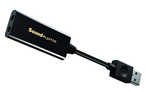 Creative Sound Blaster Play!3 - USB-DAC-Verstärker und externe Soundkarte, schwarz (Generalüberholt)