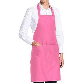 vanVerden - Premium Schürze - Pink Blanko - Pinke Latz-Schürze