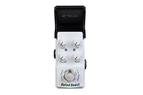 JOYO JF-301-RatedBoostClean - Pedale d'effetto per chitarra elettrica - Effetti Pedale Boost