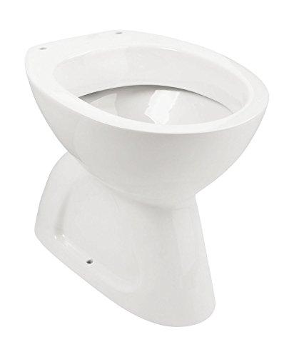 Preisvergleich Produktbild Stand-WC | Tiefspüler | Abgang innen senkrecht | Weiß | Keramik | Toilette | Gäste-WC | Bad | Badezimmer | Design | Modern