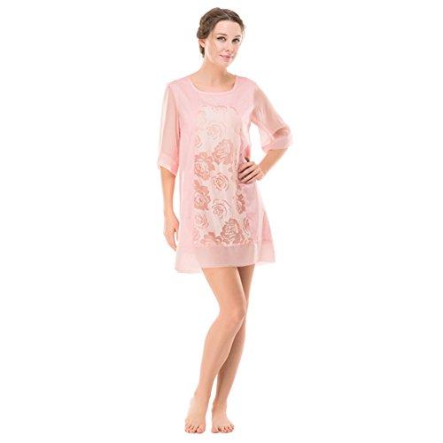 summer pyjamas/Femmes maille chemise de nuit/ chemise de nuit t-jupe/ chemise de nuit sexy B