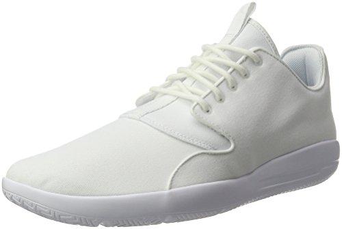 Nike Herren Jordan Eclipse Basketballschuhe, Grau, Weiß (Bianco), 45 EU (Jordan Schuhe 45)