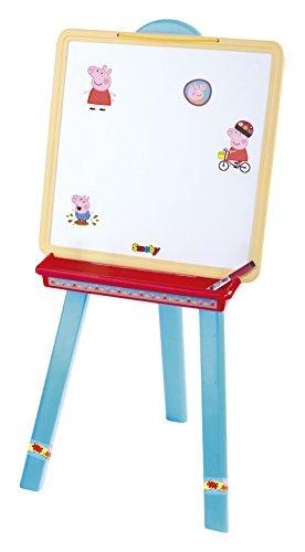 Peppa Pig-410603 Pizarra con 70 Accesorios (Simba Toys 410603
