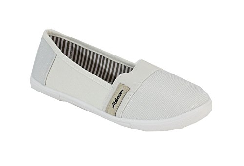 Ballerine By By By Ballerine Donna Donna Shoes Shoes White White qOCqf