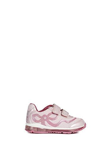 Geox Baby Mädchen B TODO Girl A Sneaker, Pink/Fuchsia C0799, 24 EU Fuchsia Patent Schuhe