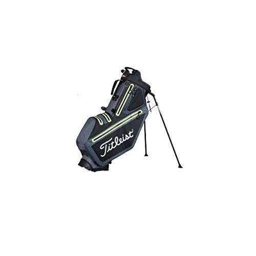 Titleist 5stadry Golf Sac trépied–Imperméable–Double système to Single Sangle (Noir), Black Charcoal Lime