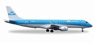 Herpa 557580 - KLM Cityhopper Embraer ERJ-190 von Herpa Miniaturmodelle GmbH