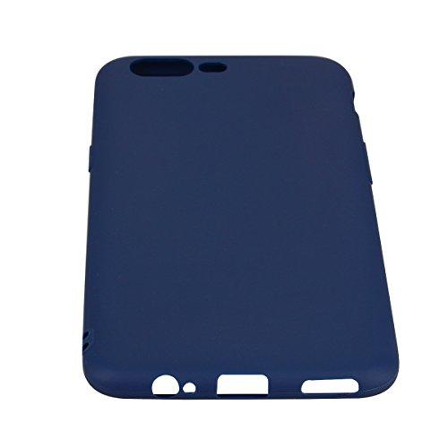 Cover OnePlus 5, CaseLover Ultra Sottile Satinate Opaco Morbido TPU Silicone Protettiva Copertura Custodia per OnePlus 5 (5.5 Pollici) Antiscivolo Gomma Protezione Caso Resistente alle Cadute Posterio Blu scuro