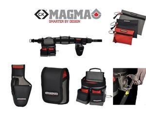 CK Magma Ma2715 Elektriker-Werkzeuggürtel, gepolstert, mit Taschen für Bohrer / Mobiltelefon