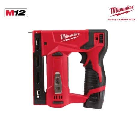 Agrafeuse MILWAUKEE M12 BST-202X - 2 batteries 2.0 Ah - 1...