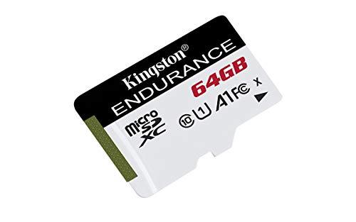 Kingston SDCE/64GB Tarjeta microSD High Endurance,  64 GB