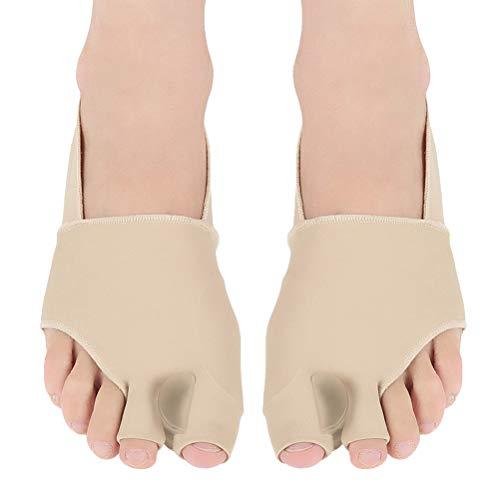 Supvox correttore alluce valgo giorno e notte separatore dita piedi gel silicone s