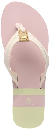GANT Footwear Damen ST BART Zehentrenner, Dusty Pink/Cream, 38 EU - Dusty Cream