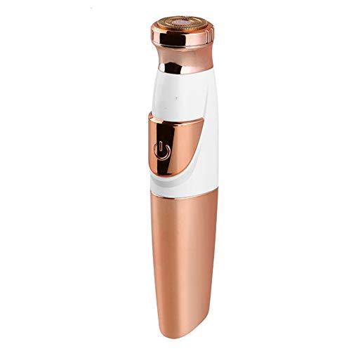 Frauen schmerzlos feines Haar Mini Tragbarer elektrischer Gesichtshaar-Entferner-Rasierer für Entfernung vonArms Achselhöhlen unter dem Arm Wasserdicht wiederaufladbar
