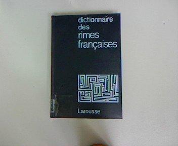 Dictionnaire Des Rimes Francaises