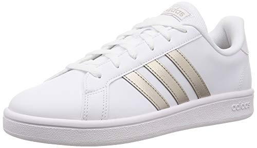 Adidas neo grand court sneakers bianco scarpe donna ragazza ee7874 41 1/3