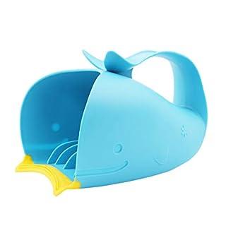 Faliya Bad Rinser für Kinder Tear-Free Wasserfall Rinser Baby Löffel Dusche Bad Wasser Schwimmen Bailer Shampoo Cup Kinder Badespielzeug