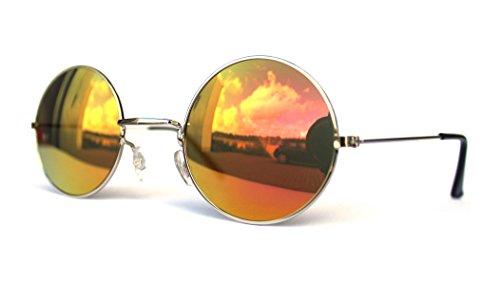kleine mini Junior Kindersonnenbrille Kinderbrille Sonnenbrille für Kinder Jungen und Mädchen im Jhon Lennon Style