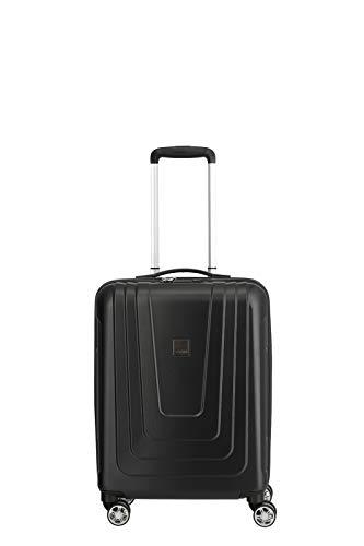 """TITAN TITAN®-Trolleys: stabile Kofferserie \""""X-Ray\"""" aus senosan®-Hartschalen - Designed und Made in Germany Koffer, 55 cm, 40 Liter, Atomic Black"""