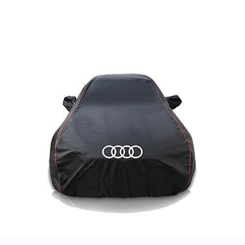 Coprisedili Audi A4L / A6L / Q5 / Q3 / A8 / Q7 / A3 Protezione solare Copertura auto Copertura isolante Copertura auto Abbigliamento Nero (dimensioni : Q7)