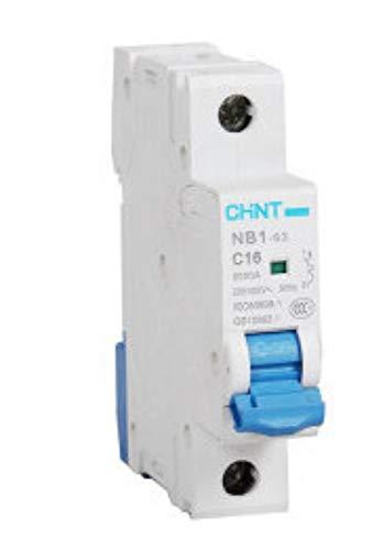 OIASD Electric Miniature Circuit Breaker NB1-63C Type Single Pole Switch 1P 6A, 2A -