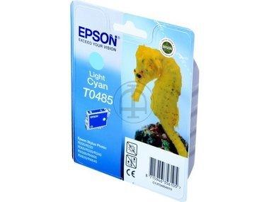 Epson Stylus Photo RX 500 (T0485 / C 13 T 04854010) - original - Tintenpatrone cyan hell - 400 Seiten - 13ml -