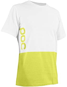 POC 2 T-Shirt Color Print Tee, esano Yellow, XL, PC615908133XLG1