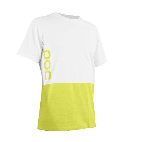 POC T-Shirt 2 Color Print Tee Hexane Yellow