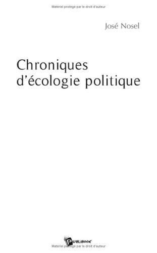 Chroniques d'écologie politique