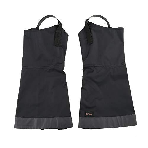 Elviray 1 Paar wasserdichte Gamaschen mit Schneegamaschen tragen atmungsaktive Gamaschen für Outdoor Wandern Wandern Klettern Jagd