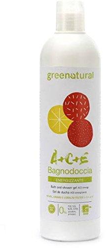 Scheda dettagliata GREENATURAL - Bagnodoccia ACE - Detergente per il corpo ad effetto energizzante, fresco e frizzante - Ricco di vitamine - Idrata ed elasticizza la pelle - 400 ml