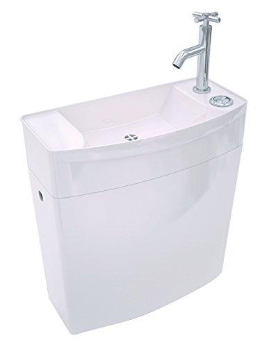 Wirquin 50720090 Iseo Spülkasten mit niedrigem Handwaschbecken