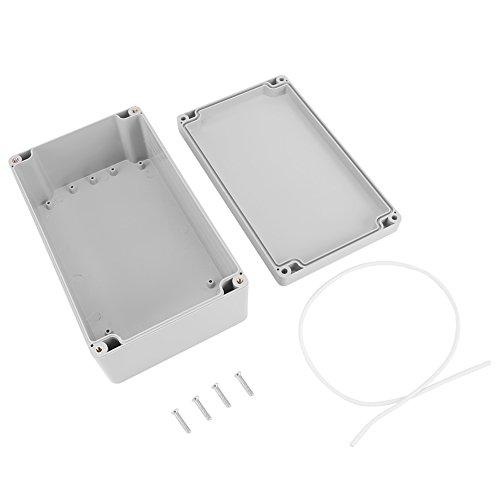 Anschlussdose, ABS IP65 wasserdicht staubdicht Anschlussdose mit Zubehör Hohe Qualität für den Anschluss im Freien weißes Gehäuse(200 * 120 * 75mm)