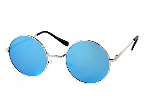 Promotion % SOLDE %: Lunettes de soleil rond rondes arrondis plat design flattop flat top sport John Lennon accessoire Viper en pas cher style moderne vêtement vacances été fashion femme homme saison tAHf5sUBC,