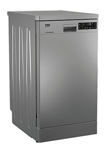 Beko DFS 28020 X Independiente 10cubiertos A++ lavavajilla - Lavavajillas (Independiente, Acero inoxidable, Acero inoxidable, LCD, 10 cubiertos, 46 dB)